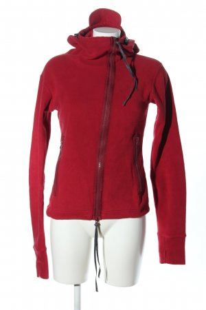 Bench Fleecejacke rot Casual-Look