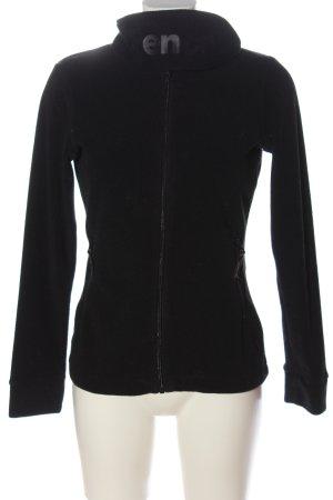 Bench Fleece Jackets black casual look