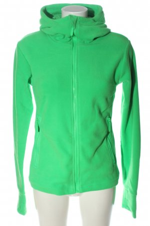 Bench Giacca in pile verde stile casual