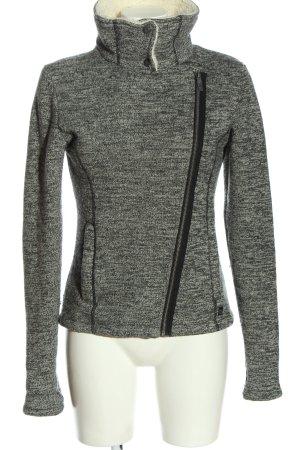 Bench Fleece Jackets light grey flecked casual look