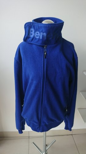 Bench Fleece jack blauw