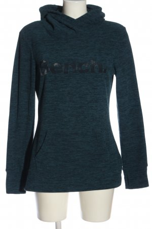 Bench Fleecepullover blau meliert Casual-Look