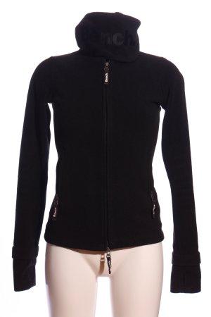 Bench Fleecepullover schwarz schlichter Stil