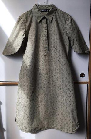 Bench Blouse Dress green grey cotton