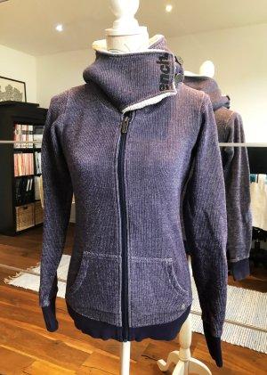 Bench Capuchon sweater grijs-paars