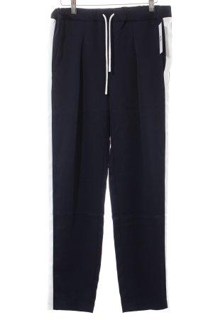 Bench Hose dunkelblau-weiß Casual-Look