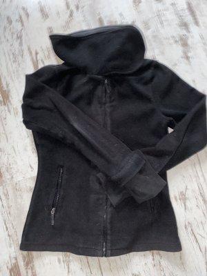 Bench Veste polaire noir-magenta