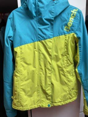 Bench Kurtka zimowa żółty neonowy-niebieski neonowy