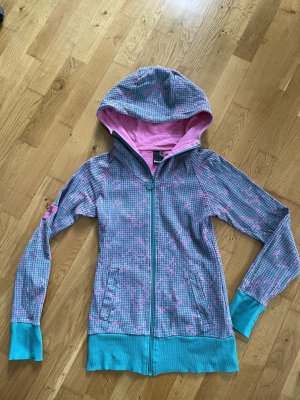 Bench Jacke Größe S 36 blau rosa
