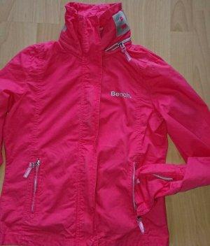 Bench, Jacke, Regen, Gr. M, Pink, mit Versteckter Kapuze