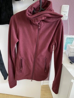 Bench Fleece jack karmijn-bordeaux