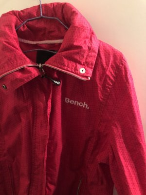 Bench Jacke Rot/Pink mit Muster