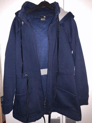 Bench Fleece jack donkerblauw-zwart