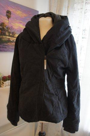 BENCH Jacke XL Damen schwarz Größe 40