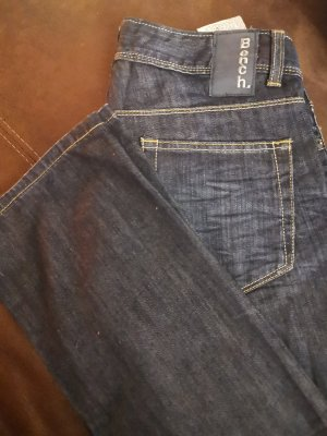 Bench Low Rise Jeans dark blue