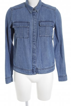 Bench Jeanshemd blau Jeans-Optik