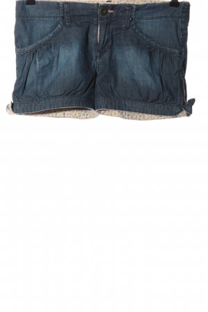 Bench Jeansshorts blau Casual-Look