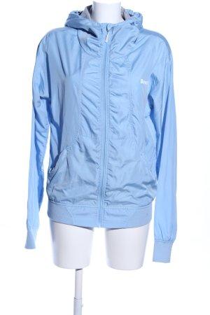 Bench Kapuzenjacke blau-weiß Casual-Look