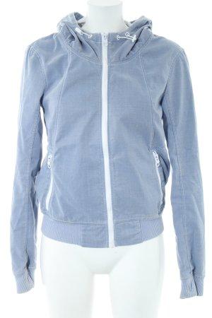Bench Kapuzenjacke blau Casual-Look