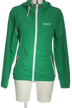 Bench Veste à capuche vert style athlétique