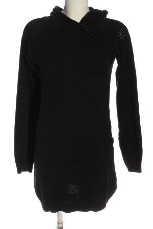 Bench Vestido con capucha negro look casual