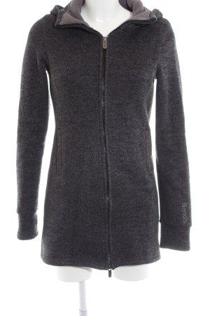 Bench Manteau à capuche gris clair moucheté style décontracté