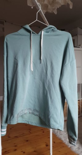 Bench Capuchon sweater turkoois