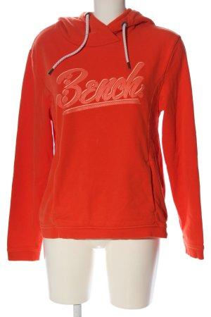 Bench Sweatshirt met capuchon rood prints met een thema casual uitstraling