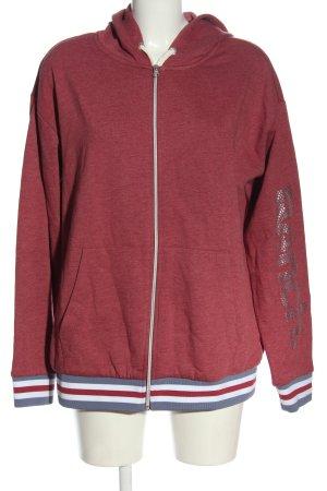 Bench Kapuzensweatshirt rot meliert Casual-Look