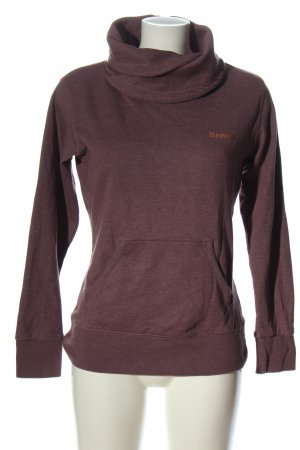 Bench Kapuzensweatshirt pink meliert Casual-Look