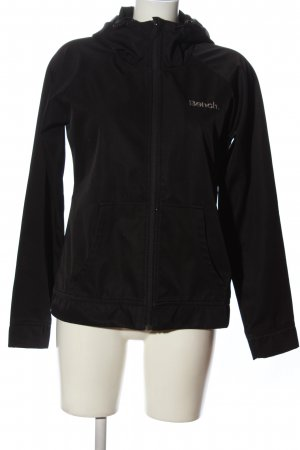 Bench Kapuzensweatshirt schwarz Schriftzug gedruckt Casual-Look