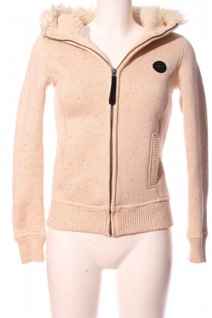Bench Kapuzensweatshirt pink Allover-Druck Casual-Look