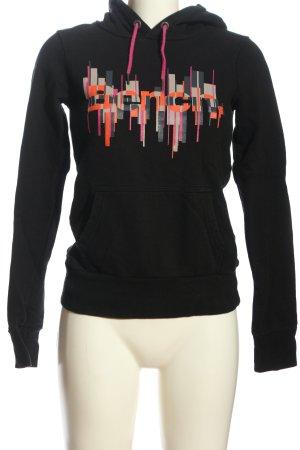 Bench Kapuzensweatshirt Motivdruck Casual-Look