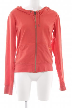 Bench Hooded Vest bright red casual look