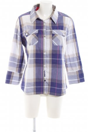 Bench Karobluse Karomuster Casual-Look