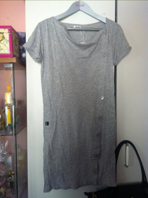 Bench Kleid mit Knöpfen in grau