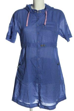 Bench Kurzarmkleid blau Casual-Look