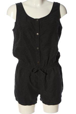 Bench Kurzer Jumpsuit noir style décontracté