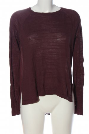 Bench Langarm-Bluse rot Casual-Look