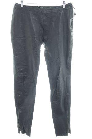 Bench Leren broek zwart Biker-look
