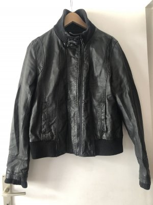 Bench Leather Jacket black