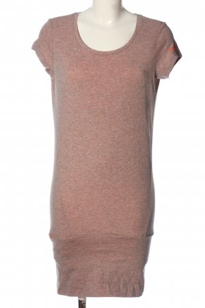 Bench Long Shirt light grey flecked casual look