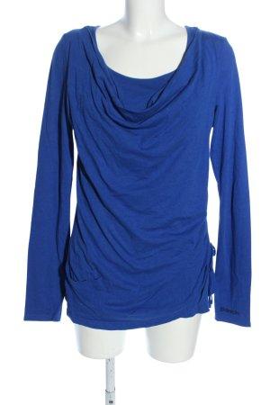 Bench Longshirt blau Casual-Look
