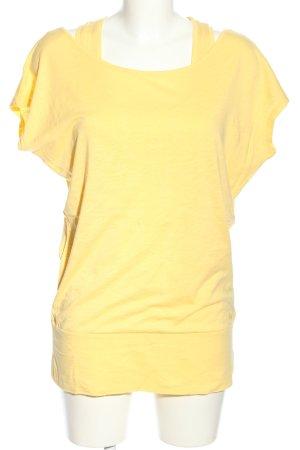 Bench Longshirt blassgelb Casual-Look