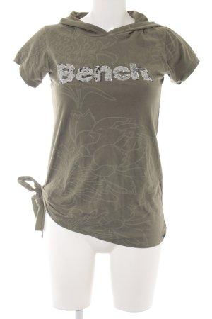 Bench Long Shirt khaki mixture fibre