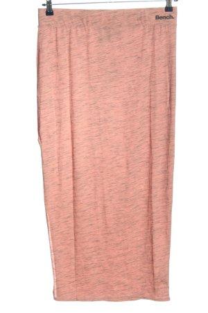 Bench Maxi gonna rosa-nero puntinato stile casual