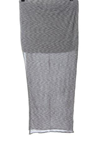 Bench Maxi gonna grigio chiaro-nero stile casual