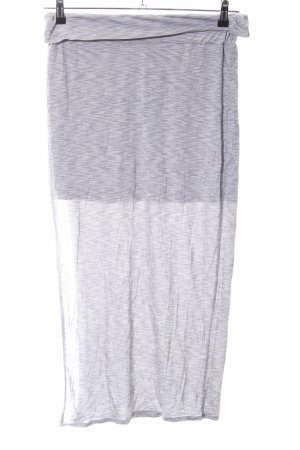 Bench Maxi Skirt light grey flecked casual look