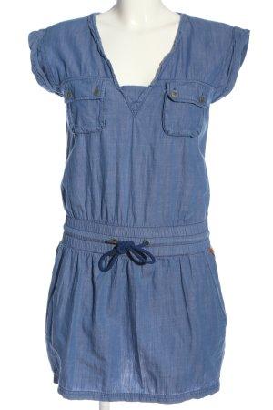 Bench Minikleid blau Casual-Look