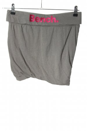 Bench Miniskirt light grey-pink flecked casual look